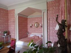 chambre Empire - Château de la Grande Noë - Chambres d\'hôtes